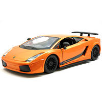 Автоконструктор LAMBORGHINI GALLARDO SUPERLEGERRA 2007 (оранж., 1:24)