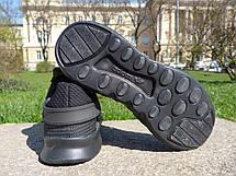 Кроссовки мужские Adidas EQT (черные) Top replic, фото 3