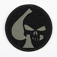 "Нашивка на липучці ""Punisher/Spade"" (ОЛИВА)"
