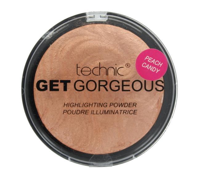 Пудра-хайлайтер Technic Get Gorgeous Highlighting Powder 12g Peach Candy