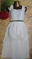 Платье+пояс Мерлин 13411 белый
