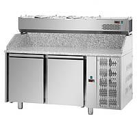 Стол пиццерийный DGD PZ02MID80 + VR4160SV