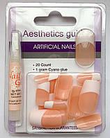 Накладные искусственные ногти GLOBOS N-6732