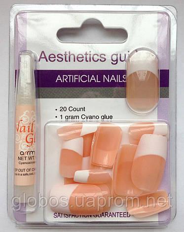Накладные искусственные ногти GLOBOS N-6732, фото 2