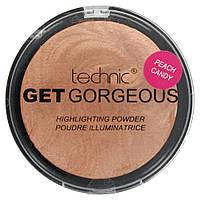 Пудра-бронзер Technic Get Gorgeous Highlighting Powder Peach Candy 12g