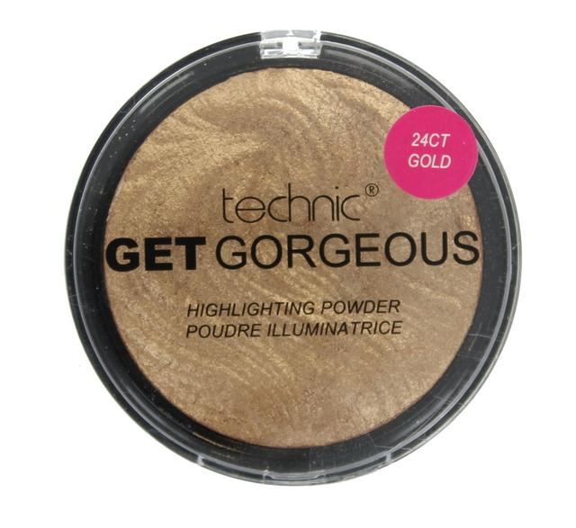 Хайлайтер Золото Technic Get Gorgeous Highlighting Powder 24CT Gold 12g