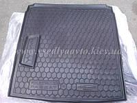 Коврик в багажник Volkswagen Passat B7 седан (AVTO-GUMM) пластик+резина