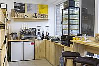 Кафе из дерева (щит мебельный сосновый)