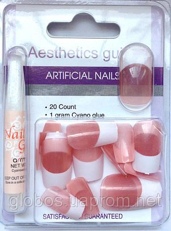 Накладные искусственные ногти GLOBOS N-6733, фото 2