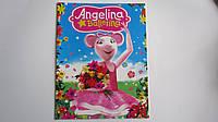 """Раскраска """"Angelina Ballerina"""",А4,12рис для детей.Раскраски для детей.Розмальовка """"Angelina Ballerina/Ангелина"""