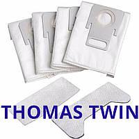 Мешки Thomas Twin TT, T1, T2 для Hygiene Box пылесосов в наборе 787230, фото 1