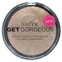 Пудра-бронзер Technic Get Gorgeous Bronzing Highlighting Powder 12g