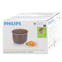 Запасная чаша HD3737 ёмкостью 5 литров для мультиварок Филипс HD3037, HD3077
