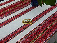 Скатерть красная в колыбу, фото 1