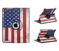 Чехол для Apple iPad 2, 3, 4 Флаг Флаг США