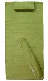 Пляжный коврик с подголовником 74х150 оливковый