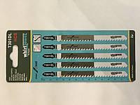 Пилочки для лобзика Whirlpower T301DL . 5 шт.