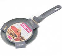 """Сковорода для блинов """"Jesolo"""" 18х2.0см алюминиевая с мраморным антипригарным покрытием Fissman"""