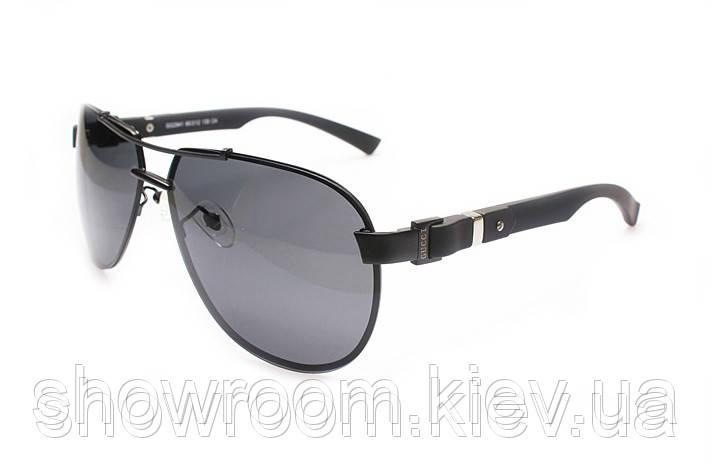 Солнцезащитные очки в стиле Gucci (2941) черная оправа