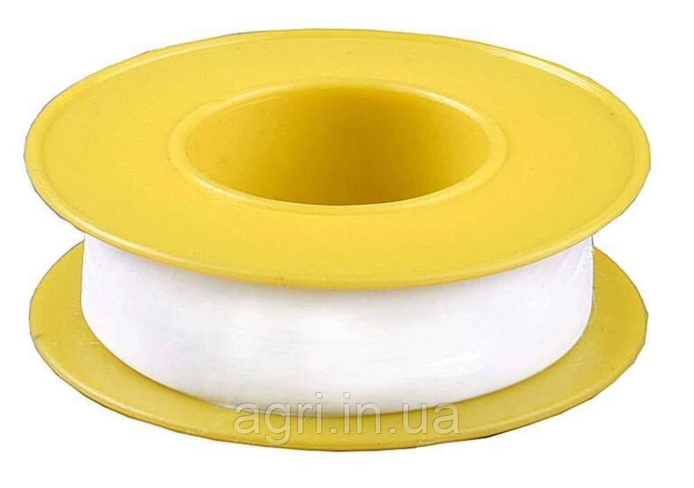 Фум лента, большой белый профи 19мм х0,25мм х15м