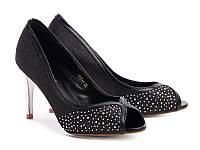 Туфли женские летние черные Б812 р 36