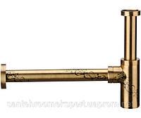 Декоративный сифон для умывальник бронза Daniel A75011463