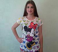 Футболка женская с Микки недорогая - Одесса