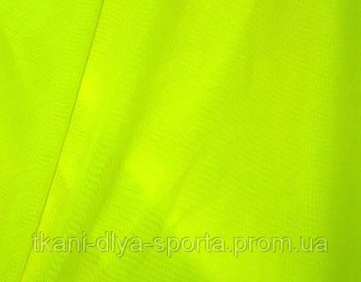 Стрейч-сетка ярко-лимонная fluo