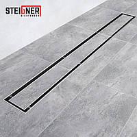 Лінійний трап для душу Steigner Німеччина SDR90 - BERLIN з сифоном 100 CM