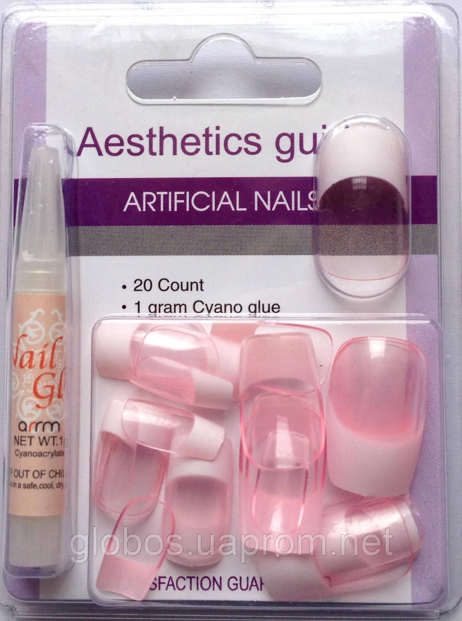 Накладные искусственные ногти GLOBOS N-6722