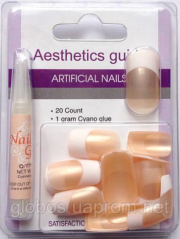 Накладные искусственные ногти GLOBOS N-6730, фото 2