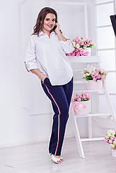 Модные женские брюки больших размеров №047
