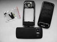 Корпус для Nokia 5800 чёрный с кнопками class AAA