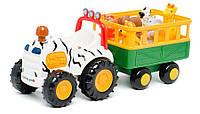 Развивающая игрушка - САФАРИ-ДЖИП на колесах для детей от 1 года (свет, звук) ТМ Kiddieland - preschool 029652