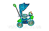 Детский трехколесный велосипед KING STORY (ручка на 1 руку), фото 5