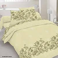 Комплект постельного белья двухспальный, сатин, 100 % хлопок.