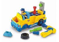 "Игрушка-конструктор ""Машинка с инструментами"" (789), Huile Toys"