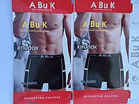 """Мужские трусы боксеры, хлопок L-4XL """"ABuK"""""""