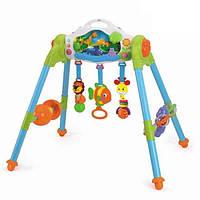 """Игровой развивающий центр 3-в-1 """"Маленький лес"""", Huile Toys"""