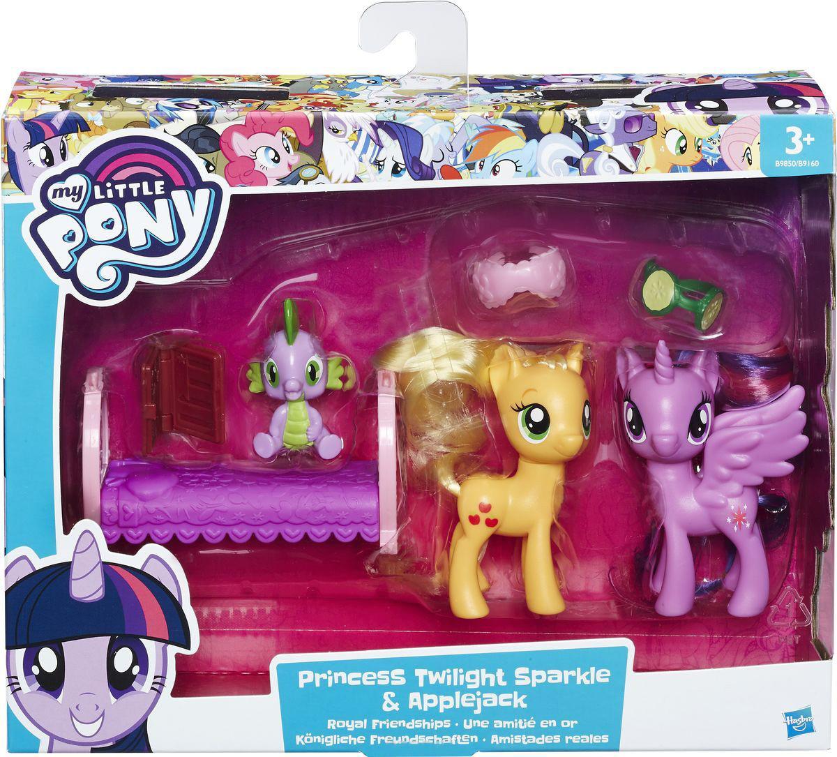 Игровой набор Princess Twilight Sparkle & Applejack (B9850-B9160)