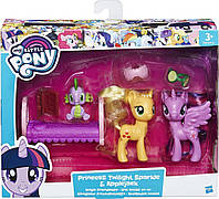 Игровой набор Princess Twilight Sparkle & Applejack (B9850-B9160)