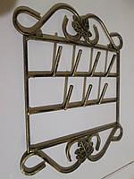 Кованая вешалка-ключница, фото 1