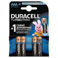 Батарейка Duracell AAA TURBO MAX LR03 * 4 (5000394069220 / 81549875)