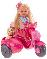 Кукла Эви Прогулка на скутере, Steffi & Evi Love
