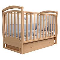 Кроватка детская Верес Соня ЛД6 с маятником и ящиком бук