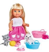 Набор с куклой Эви Домашние любимцы, Steffi & Evi Love