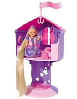 Набор с куклой Эви Рапунцель в башне, Steffi & Evi Love