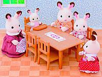 Обеденный стол и стулья, Sylvanian Families
