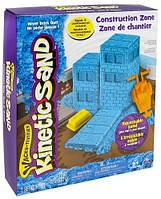 Набор песка для детского творчества Wacky Tivities Kinetic голубой с формочками (71417-2)