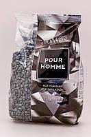 ItalWax Воск пленочный в гранулах  - Черный для мужчин, 100 г, фото 2